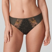 PRIMA DONNA Palace Garden String Tanga, Reptile Olive