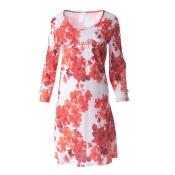 LOUIS & LOUISA Nachthemd, Lieblingsblumen, Floral, Coralle