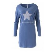 LOUIS & LOUISA Nachthemd Einfach Himmlisch, Stern, Blau
