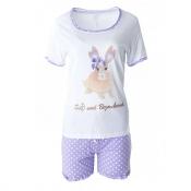 LOUIS & LOUISA Pyjama Set, Süß und Bezaubernd, Hase