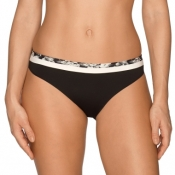 PRIMA DONNA Twist Flower Shadow, Slip, schwarz