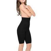 BODY WRAP Panty Figurformer hohe Taille, Schwarz
