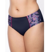 ULLA DESSOUS Bikini Hose Nizza Taillenslip, Blau
