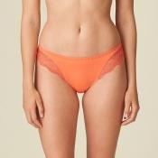 MARIE JO Pearl Slip Hose, Coral Orange