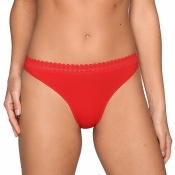 PRIMA DONNA Twist I Want You String Tanga, Rot