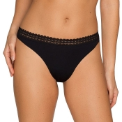 PRIMA DONNA Twist I Want You String Tanga, Schwarz