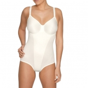 Prima Donna Satin Body Figurformend, Weiß