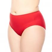 ULLA DESSOUS Bikini Taillenslip St. Tropez Hose, Rot