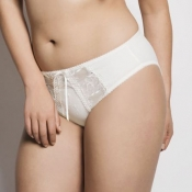 ULLA DESSOUS Victoria Luxus Slip, Weiß