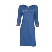 LOUIS & LOUISA Nachthemd Zeit für Mich, Blau