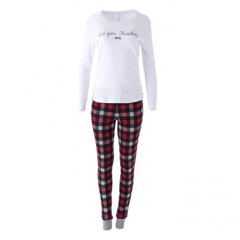 LOUIS & LOUISA Pyjama Zeit zum Kuscheln, Weiß