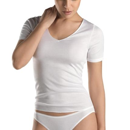 Hanro Shirt Cotton Seamless Hemd halbarm